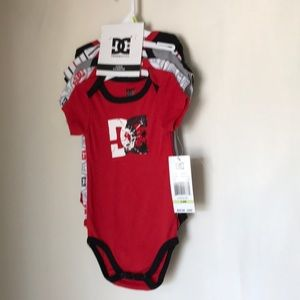 DC Other - Onesies size 3-6M. Pack of 5  NWT